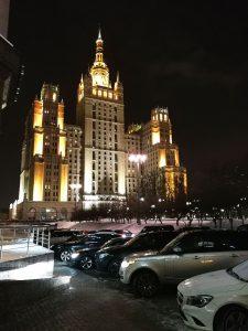 Venäjä uhkaa luomulla